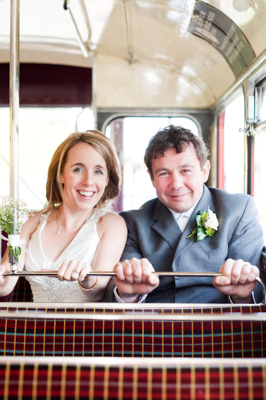 Red Bus Wedding Edinburgh