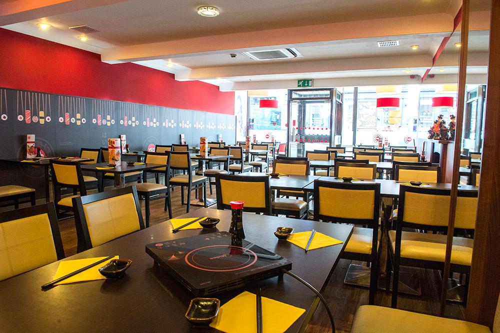 Yes Sushi Restaurant Edinburgh Review